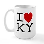 I heart KY Large Mug