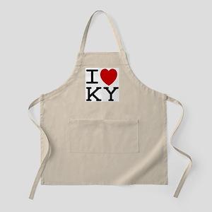 I heart KY BBQ Apron