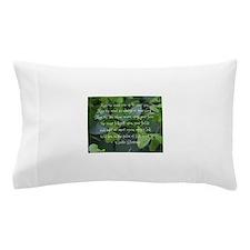 Shamrocks Gaelic Blessing Pillow Case