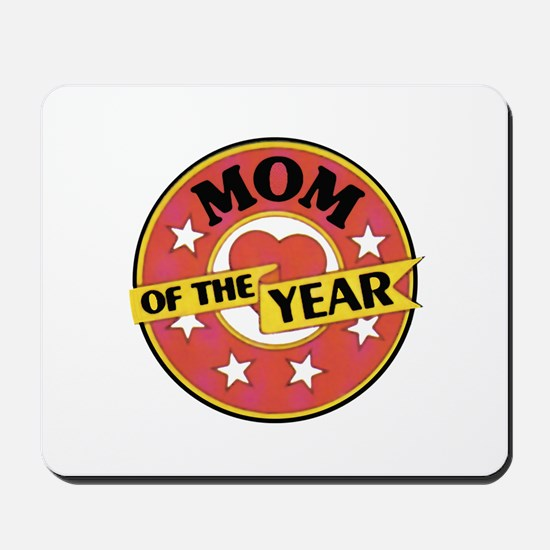 Mom of the Year - Mousepad