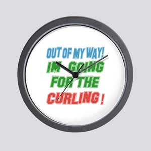 I'm going for the Curling Wall Clock