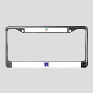 I'm going for the Fencing License Plate Frame