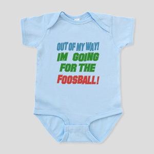I'm going for the Foosball Infant Bodysuit