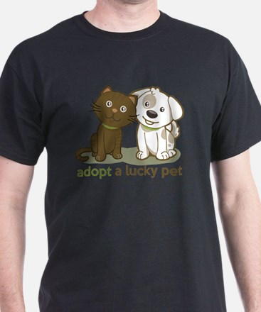 Cute Lucky lab T-Shirt