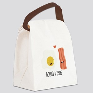 Bacon & Eggs Canvas Lunch Bag