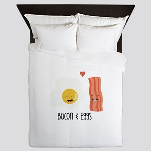 Bacon & Eggs Queen Duvet