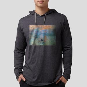 Monet's Impression Sunrise Long Sleeve T-Shirt