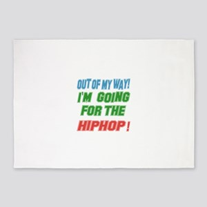 I'm going for the Hip Hop 5'x7'Area Rug