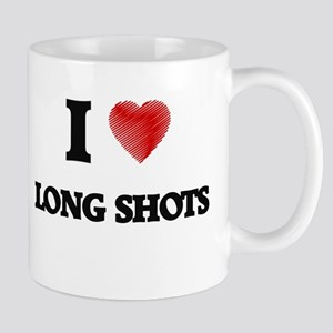 I Love Long Shots Mugs