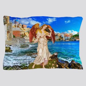 Water Angel Pillow Case