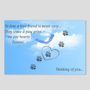True Friend Post Card Postcards (package Of 8)