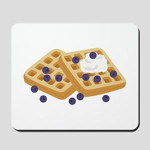 Blueberry Waffles Mousepad