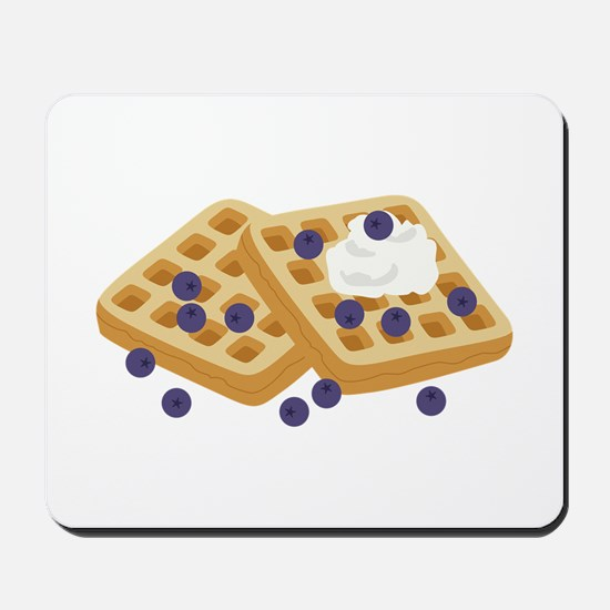 Blueberry Waffles Mousepad