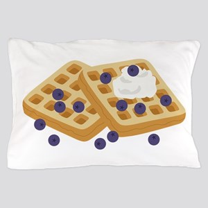 Blueberry Waffles Pillow Case