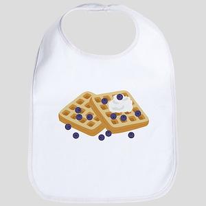 Blueberry Waffles Bib