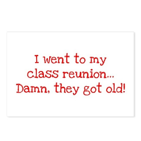 Class Reunion Postcards (Package of 8)