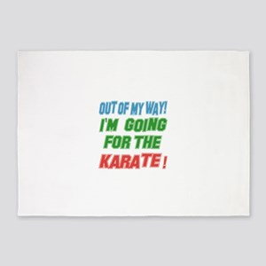 I'm going for the Karate 5'x7'Area Rug