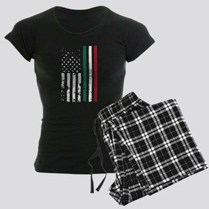 American Grown with Mexican Women's Dark Pajamas
