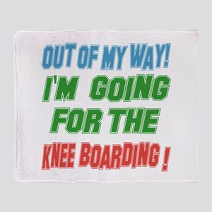 I'm going for the Knee Boarding Throw Blanket