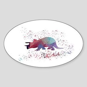 Triceratops Sticker