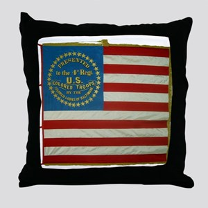 4th US Colored Troops Throw Pillow