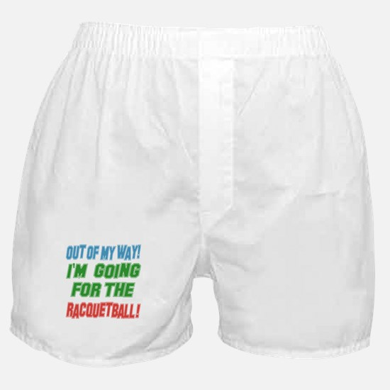 I'm going for the Racquetball Boxer Shorts