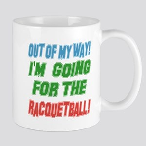 I'm going for the Racquetball Mug
