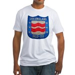 USS ENGLAND Fitted T-Shirt