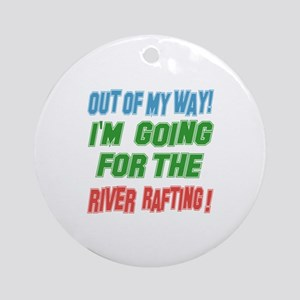 I'm going for the River Rafting Round Ornament