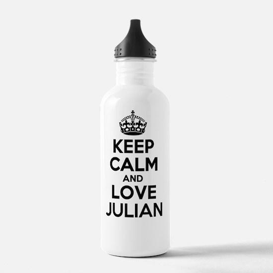 Cute Julian Water Bottle