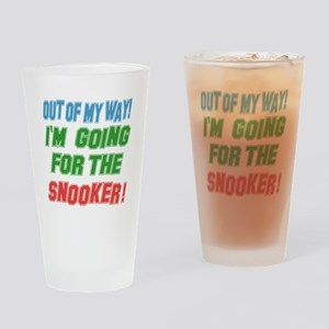 I'm going for the Snooker Drinking Glass