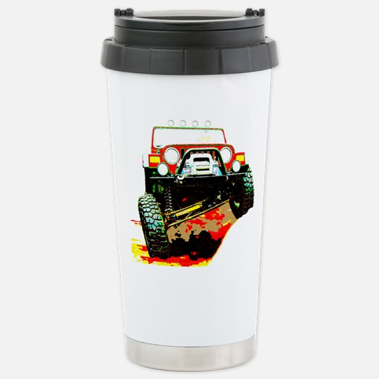 Jeep rock crawling Mugs