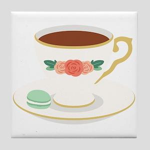 Tea Cup Tile Coaster