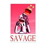 Savage Mini Poster Print