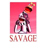 Savage Postcards (Package of 8)