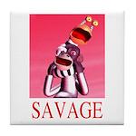 Savage Tile Coaster