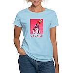 Savage Women's Pink T-Shirt