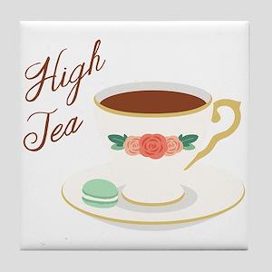High Tea Tile Coaster