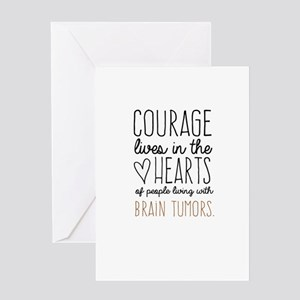 Courage Lives in The Hearts Greeting Cards