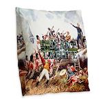 Abh Jean Lafitte Nhp Burlap Throw Pillow