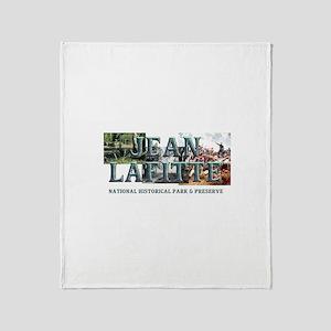 ABH Jean Lafitte NHP Throw Blanket