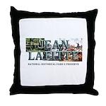 ABH Jean Lafitte NHP Throw Pillow