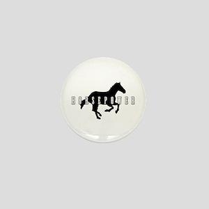 Horsepower Mini Button