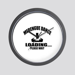 Merengue Dance Loading Please Wait Wall Clock