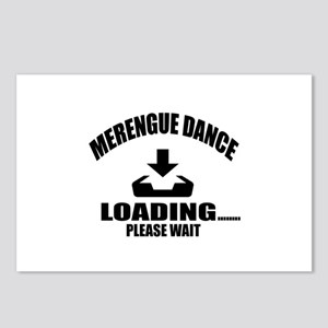 Merengue Dance Loading Pl Postcards (Package of 8)