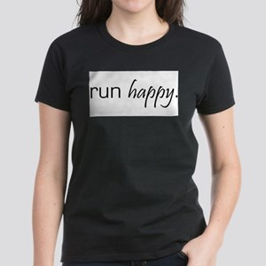 Run Happy Ash Grey T-Shirt
