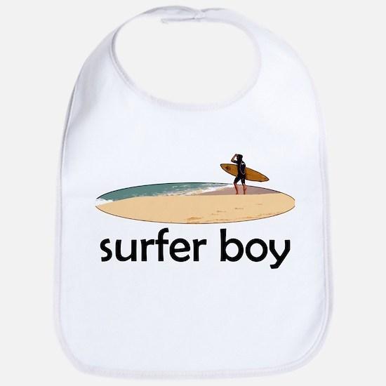 Surfer Boy Bib
