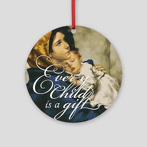 Every Child Round Ornament
