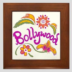 Bollywood Name Framed Tile