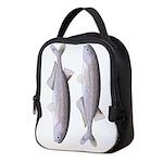 Baby Whale Fish Neoprene Lunch Bag